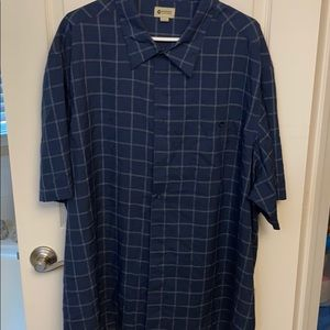 Men's Haggar button up shirt